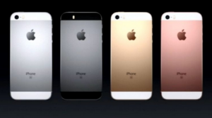 The iPhone SE comes in three colors and costs$399