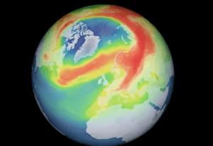 科学家证实,地球治愈了北极上方100万平方公里的最大臭氧层洞