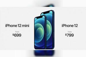苹果发布支持5G的iPhone 12和iPhone 12 Mini