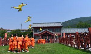 少林寺与大学合作招收功夫专业的海外学生