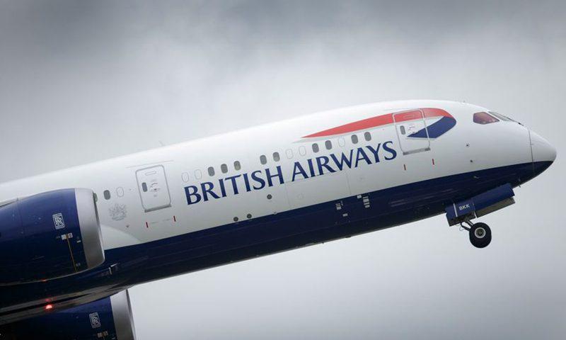 新病毒爆发后,中国暂停了往返英国的航班