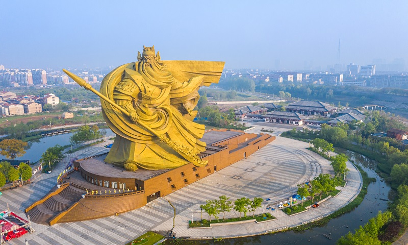 湖北将斥资1.55亿元搬迁备受争议的巨型关公雕像
