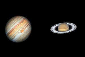 1分钟短篇英语新闻:木星和土星800年来第一次聚集在一起形成圣诞星