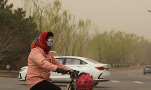 沙尘暴再次袭击北京