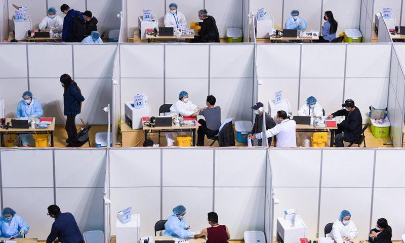 调查显示,超过80%的中国受访者愿意接种新冠肺炎疫苗