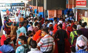 印度大规模疫情爆发仍在持续; 美国低估了死亡人数