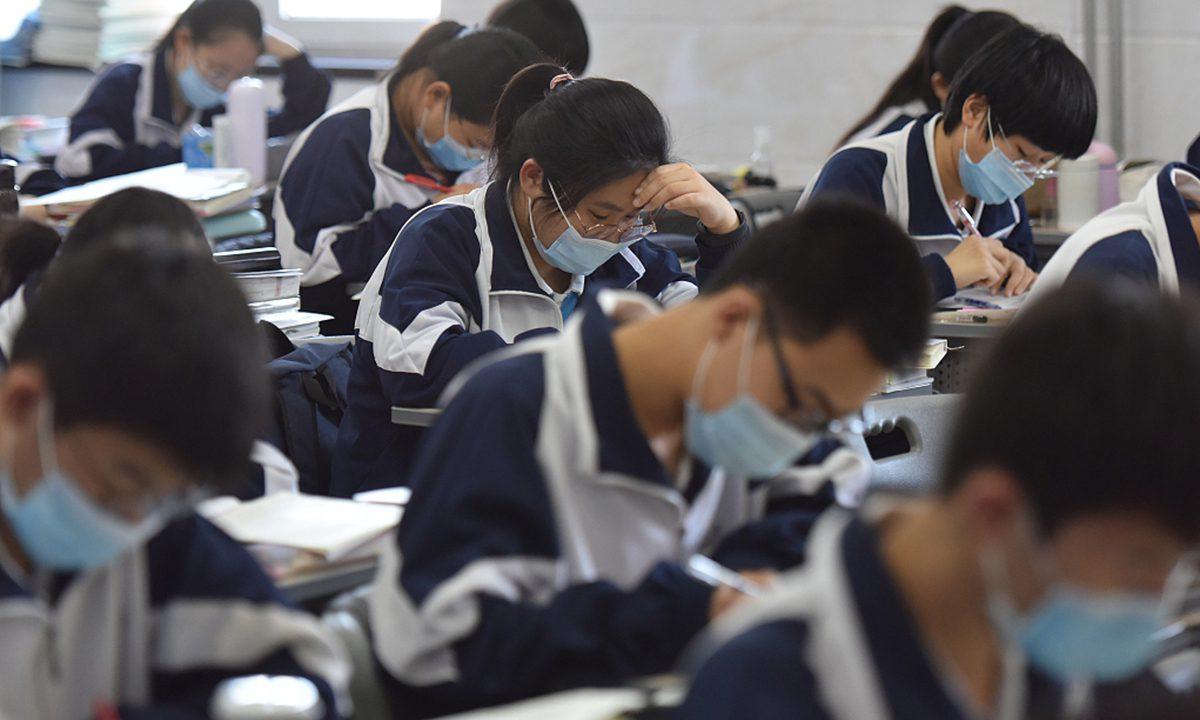 近日,中国一名16岁学生死亡,心理学家呼吁对高中生的心理健康给予更多关注
