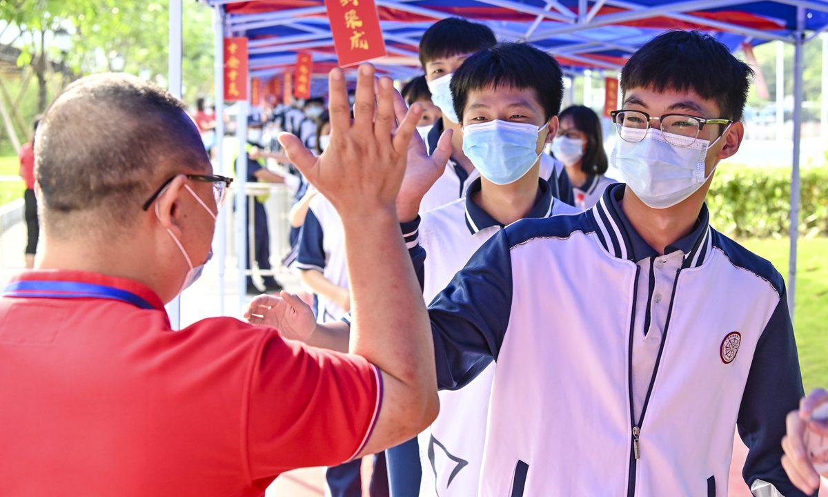 中国的顶尖大学都在全力招收尖子生
