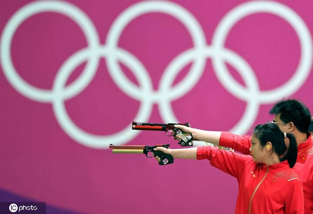 东京奥运会射击10米气手枪混合团体决赛中国队夺冠