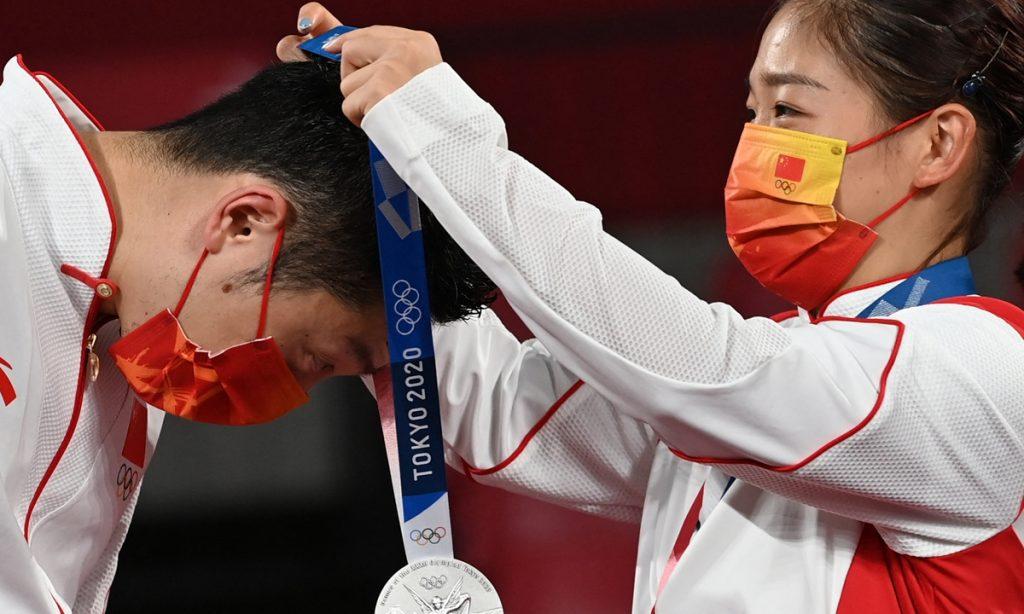 奥运日报   今天,中国队斩获7枚奖牌