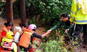 洪水灾害导致至少146人死亡或失踪,影响了中国34.81万人