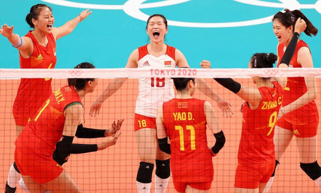 中国女排赢下捍卫荣誉之战:希望告诉大家女排精神还在