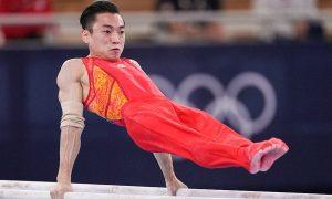 中国第31金!四川健儿邹敬园夺体操男子双杠冠军