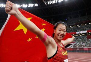 第36金!刘诗颖夺得女子标枪金牌