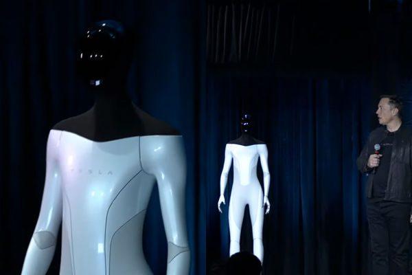 马斯克宣布特斯拉将在明年推出人形机器人