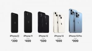苹果推出iPhone13 Pro和iPhone13 Pro Max