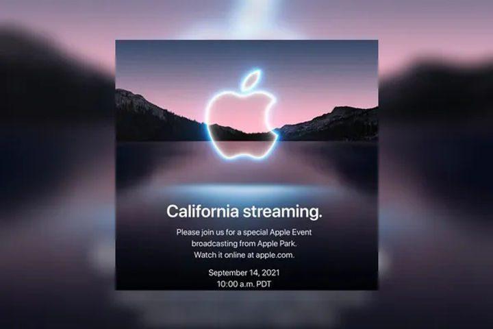苹果发布秋季发布会定于当地时间9月14日 iPhone13系列即将推出